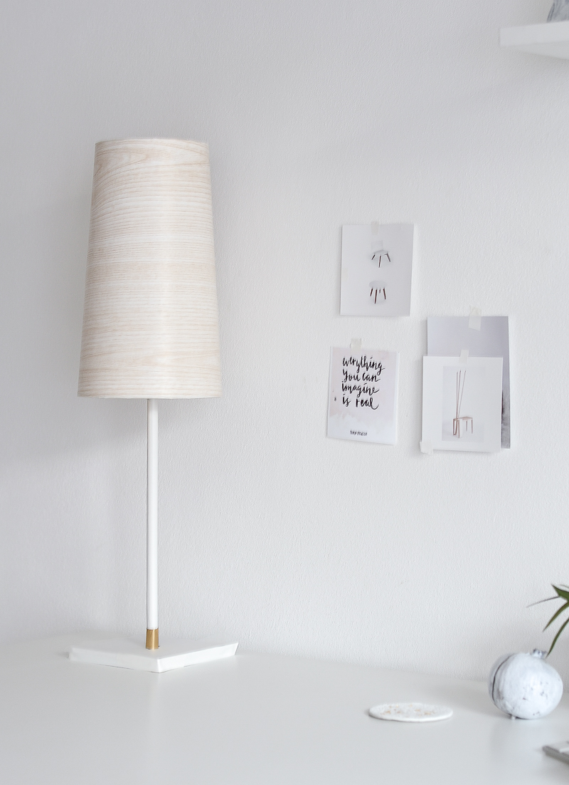 DIY Wooden lampshade