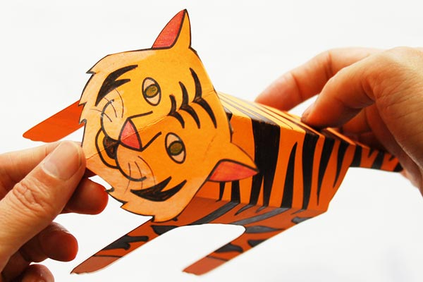 Step 15 Folding Paper Zoo Animals