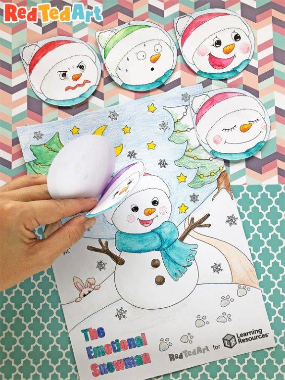 Emotions Snowman - SEL Resources for Kids