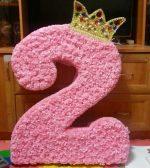 Цветы из бумаги для цифры – Цифра на день рождения своими руками. Как сделать плоские и объемные цифры для мальчика, девочки. Пошаговые мастер-классы