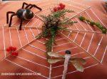 Паучок на паутине поделка из природного материала – Поделка паук на паутине из природного материала