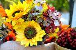 Осенний букет из листьев картинка – картинка и фото осенний букет, скачать рисунки на Depositphotos®