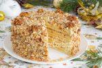 Торт медовый на сковородке – Торт на сковороде медовый: рецепт с фото