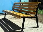 Удобная скамейка – Садовая скамейка со спинкой своими руками: чертежи и фото