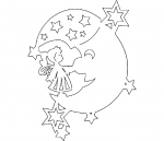 Украшения для окон из бумаги к новому году шаблоны – Трафареты украшений на окна к новому году: технология создания, мастер-классы