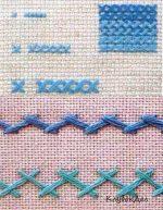 Виды вышивки крестом – Виды швов при вышивании крестом