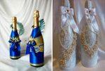 Бутылки своими руками – декор бутылок своими руками на фото