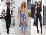 Джинсы с высокой талии с чем носить фото – С чем носить высокие джинсы (с высокой талией), 32 фото