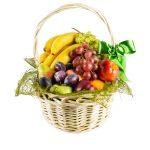 Корзина из цветов и фруктов своими руками – пошаговые фото для начинающих по фруктовому букету самой