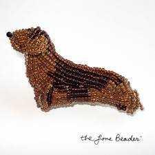 Делаем собачку-брелок из бисера различные мастер классы