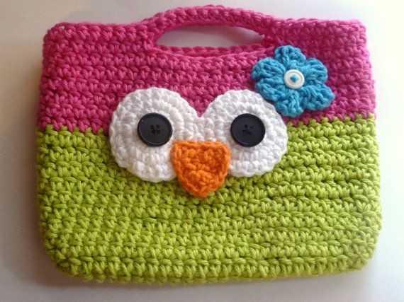 a1cace145264 Детскую вяжем крючком сумочку – Сумочка для девочки крючком (схемы и ...