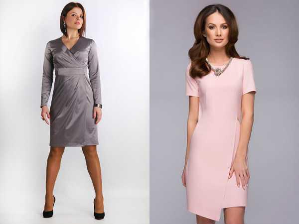 04bb16227a773f4 Для полных женщин лучше всего подойдет длинное вечернее платье с запахом,  повязанное на талии мягким поясом. Юбка тюльпан или широкий клеш  великолепно ...