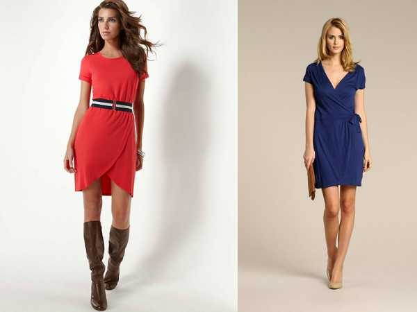59374e0c930b374 Умело дополняя платье-халат аксессуарами, можно создавать не только  повседневные, но и деловые, праздничные образы.