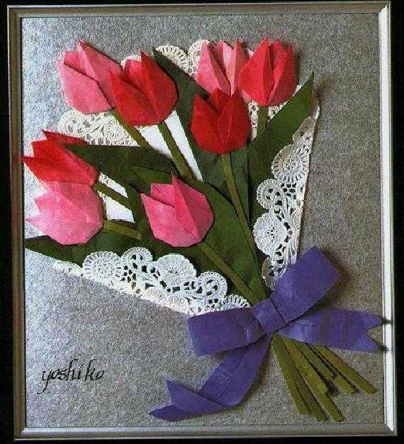 Тюльпаны на открытку своими руками, сражение картинки для