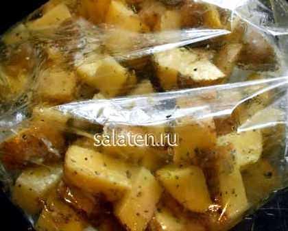 Как в приготовить картофель в микроволновке в пакете