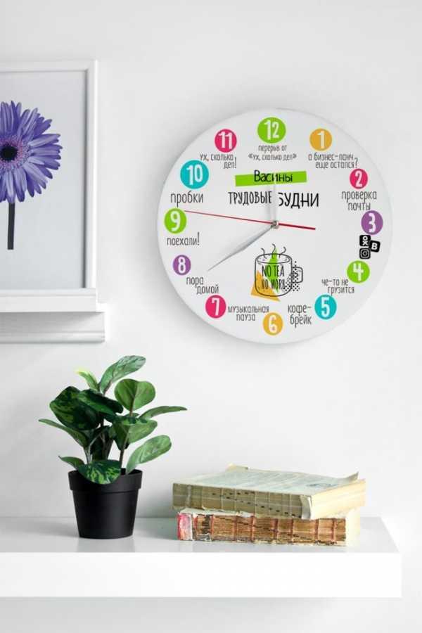 15 идей для фантастических настенных часов, которые можно сделать своими руками